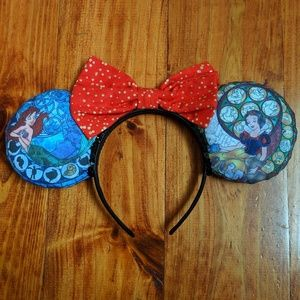 Accessories - Disney Princess Stain Glass Minnie Ears